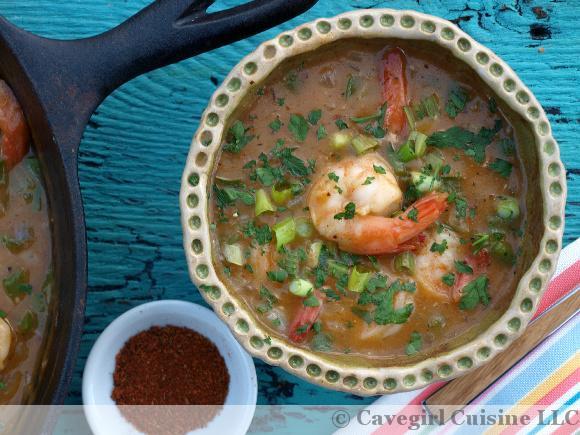 Gluten-Free Shrimp Étouffée