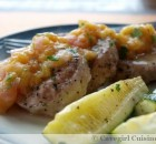 Peachy Pork Tenderloin Medallions (recipe by PrepDish)