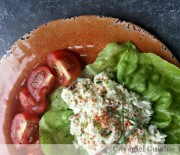 No-Bake Crab Salad Lettuce Wraps
