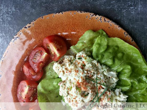 No-Bake Crab Salad Lettuce Wraps