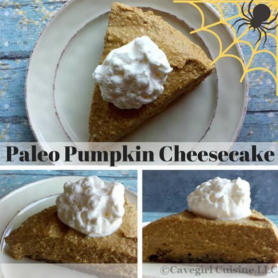 Paleo Pumpkin Cheesecake Mosaic