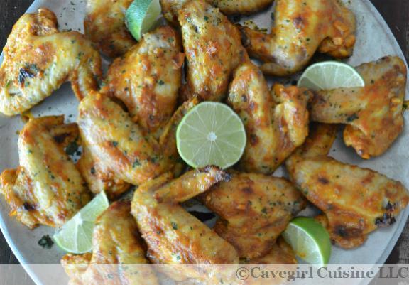 Dairy-Free Tandoori Chicken Wings #cavegirlcuisine #paleochickenwings