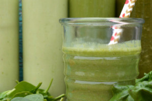 Pineapple Express Paleo Green Smoothie