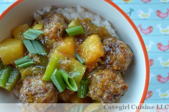 Hawaiian Sweet and Sour Meatballs