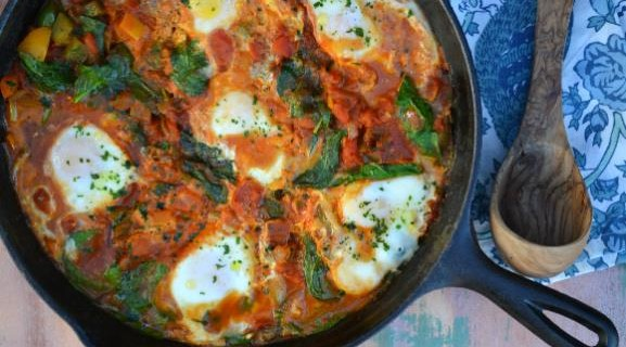 Shakshuka from The Yiddish Kitchen