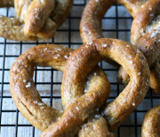 Soft Pretzels from Paleo Kids Cookbook