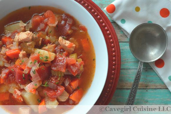 Paleo Leftover Turkey Stew