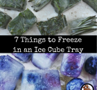 7 Things to Freeze in an Ice Cube Tray