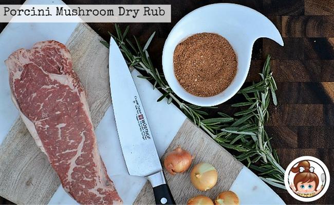 Porcini Mushroom Dry Rub #cavegirlcuisine