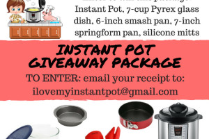 Instant Pot Giveaway Package!