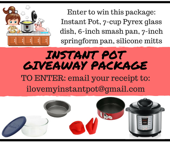 Instant Pot Giveaway Package