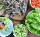 Instant Pot Carnitas Lettuce Wraps