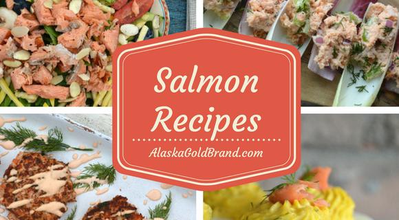AlaskaGoldBrand.com Salmon ~ 4 Recipes