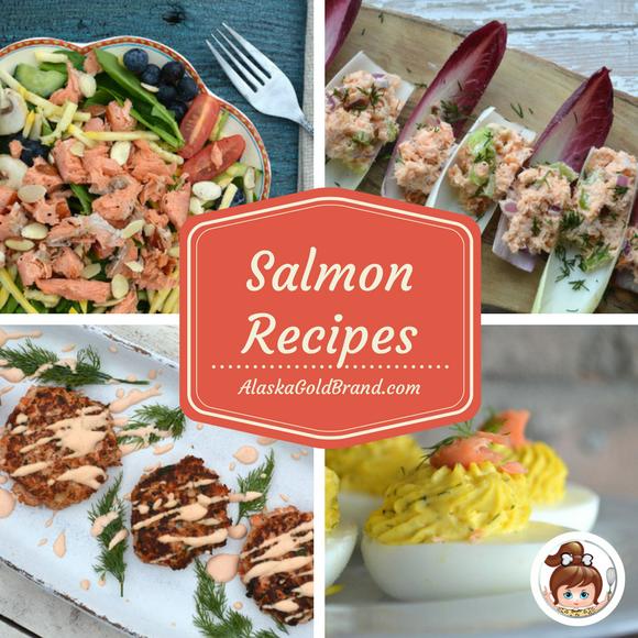 AlaskaGoldBrand.com Salmon ~ 4 Recipes #alaskagoldbrand #cavegirlcuisine