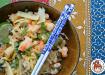 Paleo Shrimp Egg Roll Bowl