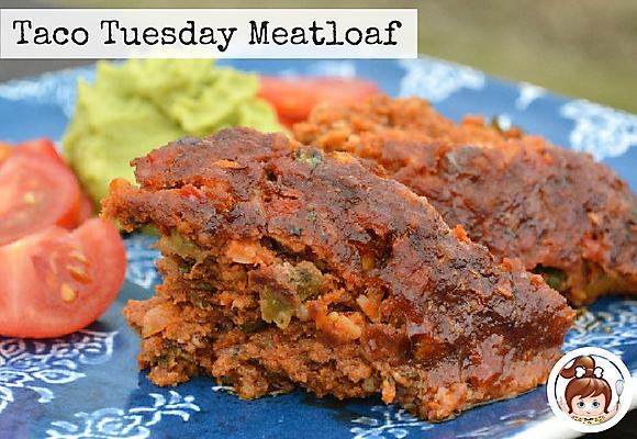 Taco Tuesday Meatloaf #tacotuesday #cavegirlcuisine