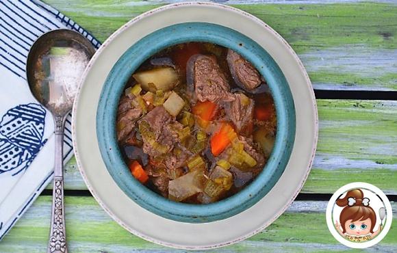 Irish Lamb Stew (directions for Instant Pot and Stovetop) #instantpot #ilovemyinstantpot #cavegirlcuisine